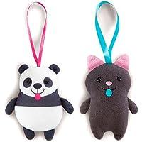 Peluche Jolly gatito panda soft Nici 12cm surtido