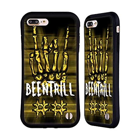 Official Been Trill Rock Sign Mixed Hybrid Case for Apple iPhone 7 Plus / 8 Plus
