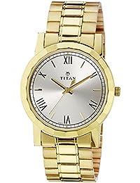 Titan Analog Silver Dial Men's Watch -NK1644YM01