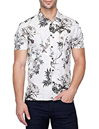 Vettorio Fratini By Shoppers Stop Mens Regular Collar Printed Shirt