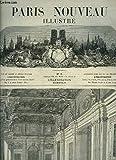 Paris Nouveau Illustré N°9 : NOUVEAU TRIBUNAL DE COMMERCE - SALLE DES PAS-PERDUS - ANNEXE DU LYCEE IMPERIAL BONAPARTE RUE DU HAVRE - ANCIENNE MAISON D'ALEXIS GODILLOT - DECORATEUR.