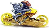 #9: Hot Wheels MotoRiders 2016 - Gamma Racer Yellow/Silver