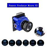 Foxeer Predator Micro V2 Drone Camera FPV Camara 1000TVL 1.8mm OSD WDR 4:3 Screen Seven Languages PAL Blue for RC Racing