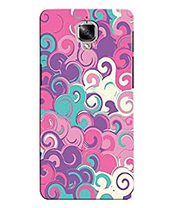 Citydreamz Colorful Pattern\Holi Hard Polycarbonate Designer Back Case Cover For OnePlus 3