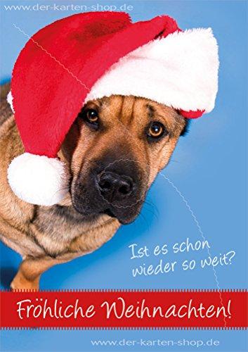 Biglietti Di Natale On Line.3 Pezzi Biglietti Di Natale Biglietto Con Busta Flash Cane