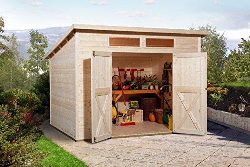 Weka Gartenhaus 325 A Größe 1 natur