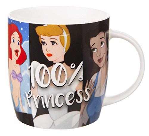 Taza princesa de Disney 100