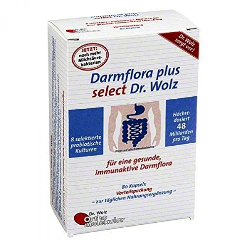 Dr. Wolz Darmflora plus select, 1er Pack (80 Kaps.)