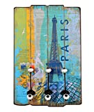 ts-ideen 'Wandgarderobe PARIS in Stil Epoca Effekt Shabby. 60x 40cm.