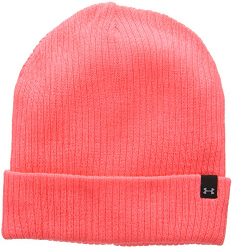 Under Armour Damen UA Favorite Knit Beanie Sportswear-Hüte, Brilliance, OSFA