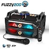 Enceinte Karaoke à LEDs RVB 200W - USB/SD/BT + Micro + Télécommande - MY DEEJAY FUZZY 200