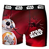 Disney Star Wars Herren Boxershort, Mega-Designs, Druide, T-Fighter (L/6/50, Druide BB-8)
