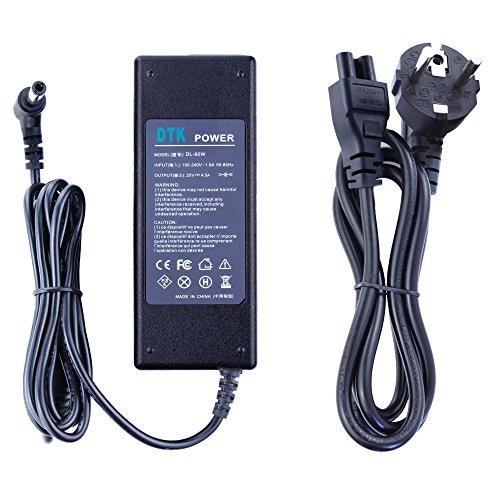 DTK Computadora portátil Cargador Fuente de alimentación Adaptador Unidad de alimentación para portátil Lenovo G.B.S.Y.Z.V.U serie y Fujitsu Siemens Amilo Lifebook u.v.m. Output: 20V 4.5A 90W Cargadore y adaptadore Conector: 5.5 * 2.5mm