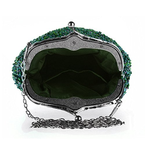 ashdown, Poschette giorno donna Peacock Green Peacock Green