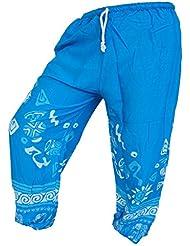 by soljo - Pantalon pantalons de loisirs sportifs pantalon Elephant Afrique bleu