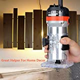 "Best Router Lifts - 220V 1/4"" 530W 35000r/min MT370 Corded Electric H Review"