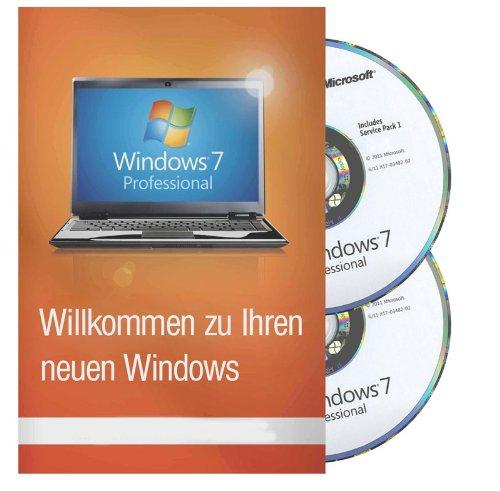 7 Betriebssystem (Windows 7 Professional inkl SP1 32 / 64 Bit MAR Refurbished (Zertifiziert und Generalüberholt))