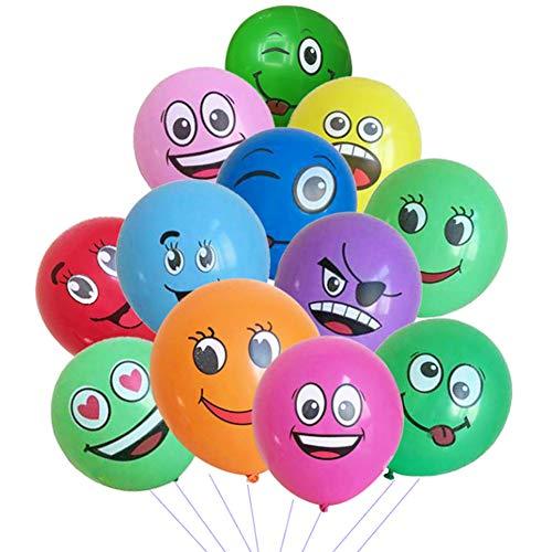 �cke 7-12 Zoll Party Luftballons Verschiedene Lustige Design Kinder Latex Luftballons Geburtstagsfeierversorgungen Neuheit Hochzeit Latex Ballons ()