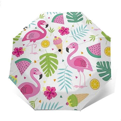 Travel Sun Regen Regenschirm Lustiger Hund Jack Russell Terrier Hunde UV-Schutz für Männer Frauen -
