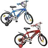 Kinderfahrrad Speed TX 16 Zoll rot oder blau Stützräder Luftbereifung