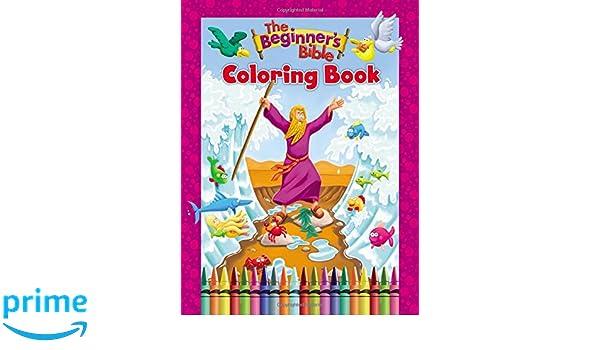 Beginners Bible Coloring Book (The Beginner\'s Bible): Amazon.co.uk ...