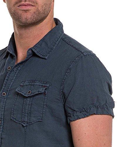 BLZ jeans - Chemisette lin grise Gris