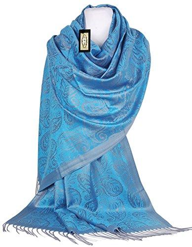 GFM - Pashmina - Femme S1 - Turquoise Blue (S1TXNL)