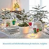 24 LED Kerzen, Diyife® LED Flammenlose Tealights, Flackern Teelichter, elektrische Kerze Lichter Batterie Dekoration für Weihnachten, Weihnachtsbaum, Ostern, Hochzeit, Party [Batterien enthalten] - 4