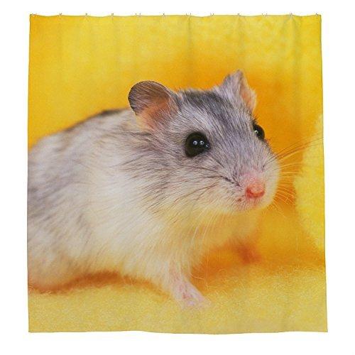 rioengnakg Maus Wasserdicht Polyester Duschvorhang, #1, 72