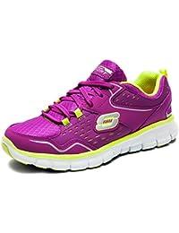 bc5b9de3 Skechers Zapatos Scapa deportivas Memory Foam mujer 11792 prlm Zapatillas  Bajas Cordones, violeta, 11792