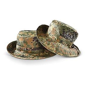 Chapeau De Brousse Ou Boonie Hat Camo Camouflage Flecktarn Miltec 12321021 Airsoft Guerre Viet Nam Taille 58