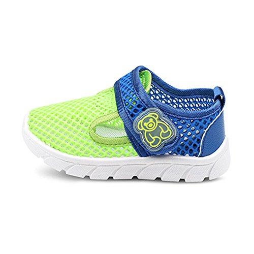 Enfants Chaussures D été Marcher Plage Respirant Doux Fond Maille Filet  Chaussures En Plein Air ac1a843ada05