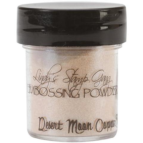 Lindy's Stamp Gang 2-Tone Embossing Powder .5oz-Desert Moon Copper Teal