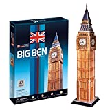 AK Sport C094H - 3D Puzzle Big Ben, 47-teilig