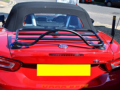 FIAT 124Spider Gepäck Rack Einzigartiges Design, keine Klemmen keine Gurte keine Klammern keine Farbe Schäden