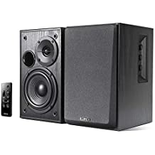 Edifier R1580MB Active 2.0 Speaker Events and Small Venues Dual Microphone inputs for use /4 inch Bass Drivers