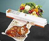Saldatrice sottovuoto per alimenti a tenuta stagna Durevole e conveniente Funzionamento semplice Adatta per sigillatura di alimenti a tenuta stagna-Pompa singola nera (inviare 10 sacchetti sottovuoto)