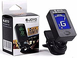 JoyoDigital LCD Display Automatic Clip-on Chromatic Guitar Violin Ukulele Tuner Bass