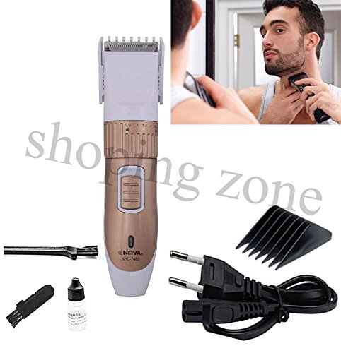 Nova Professional Rechargeable & Cordless Hair Beard Trimmer Shaver Clipper  available at amazon for Rs.699