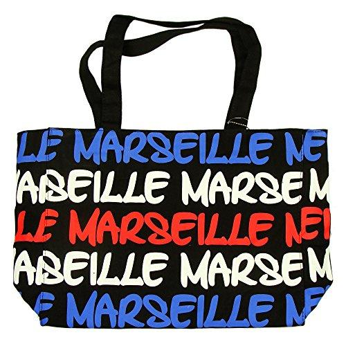 Robin Ruth - Sac Shopping Marseille 38 x 30 cm - Bleu, Blanc, Rouge