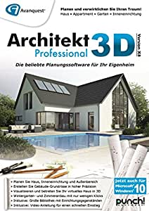 architekt 3d x8 professional pc download software. Black Bedroom Furniture Sets. Home Design Ideas