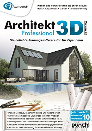 Architekt 3D X8 Professional [PC Download]