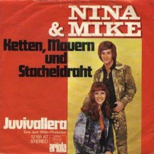 Nina & Mike - Ketten, Mauern Und Stacheldraht - Ariola - 12 191 AT