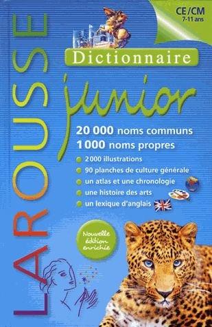 Dictionnaire Larousse junior (7-11 ans) ...