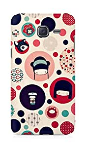 Amez designer printed 3d premium high quality back case cover for Samsung Galaxy J5 (Pattern)