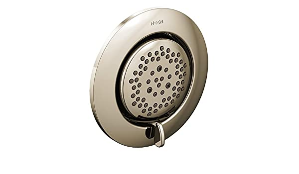 Valve Required Polished Nickel Moen TS1422NL Mosaic Mosaic Round Two-Function Body Spray