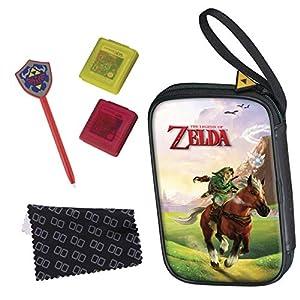 Nintendo New 3DS – Zubehör-Set Essential Pack Zelda (verschiedene Motive)