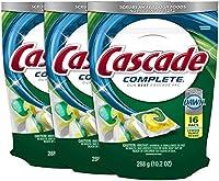 Cascade Complete Actionpacs AllIn1 Dishwasher Detergent Lemon Burst 16 Ct 3