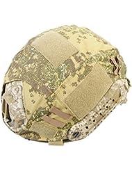 Militar táctica serie Airsoft combate Ops-Core rápido Ballistic casco cubierta del Ejército Caza Paintball Shooting Gear, Badland