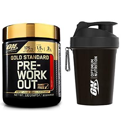 Optimum Nutrition Gold Standard Pre-Workout + Shaker by Optimum Nutrition
